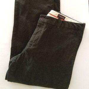 Dockers Men's Dark Green Cord Pants 38/32 EUC